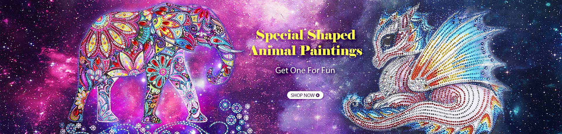 Special Shaped Animals Paintings